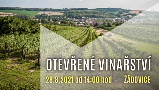 Otevřené vinařství - 28.8.2021
